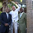 Branson & Two Tall NBA Dudes