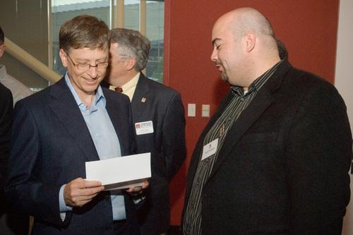 Bill Gates and Alex Fielding 2