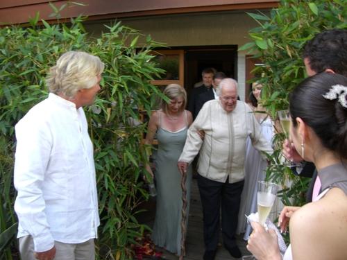 Ted Branson & Mariel Hemingway